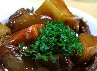 らでぃっしゅぼーやの野菜でビーフシチュー
