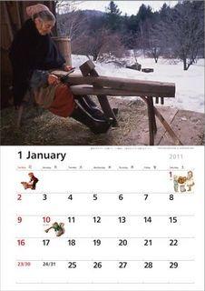 ターシャ・テューダーのカレンダー2011、ステキです♪