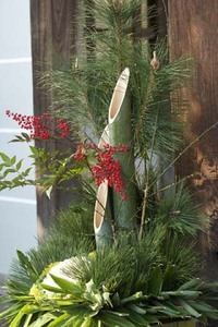 正月飾り 玄関