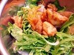 水菜(ミズナ)のサラダ レシピ