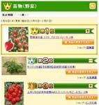 野菜苗 人気 ランキングは?